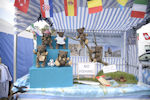 Muki bear tribe at Theale County Show